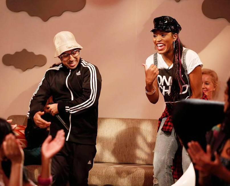 Gettin' It Poppin' (and Lockin')? Hey, He Was in One of Keke's Music Videos - (Photo: Tyler Golden/PictureGroup)