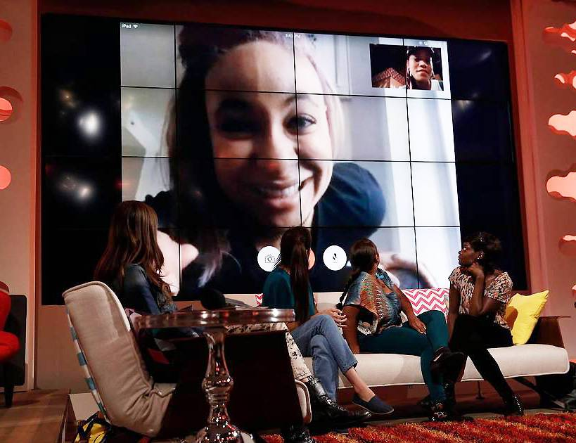 Raven Symone Skypes in to Just Keke - Raven Symone made a Skype appearance on the Just Keke show to discus her life since That's So Raven.  Watch The Clip (Photo: Tyler Golden/PictureGroup)