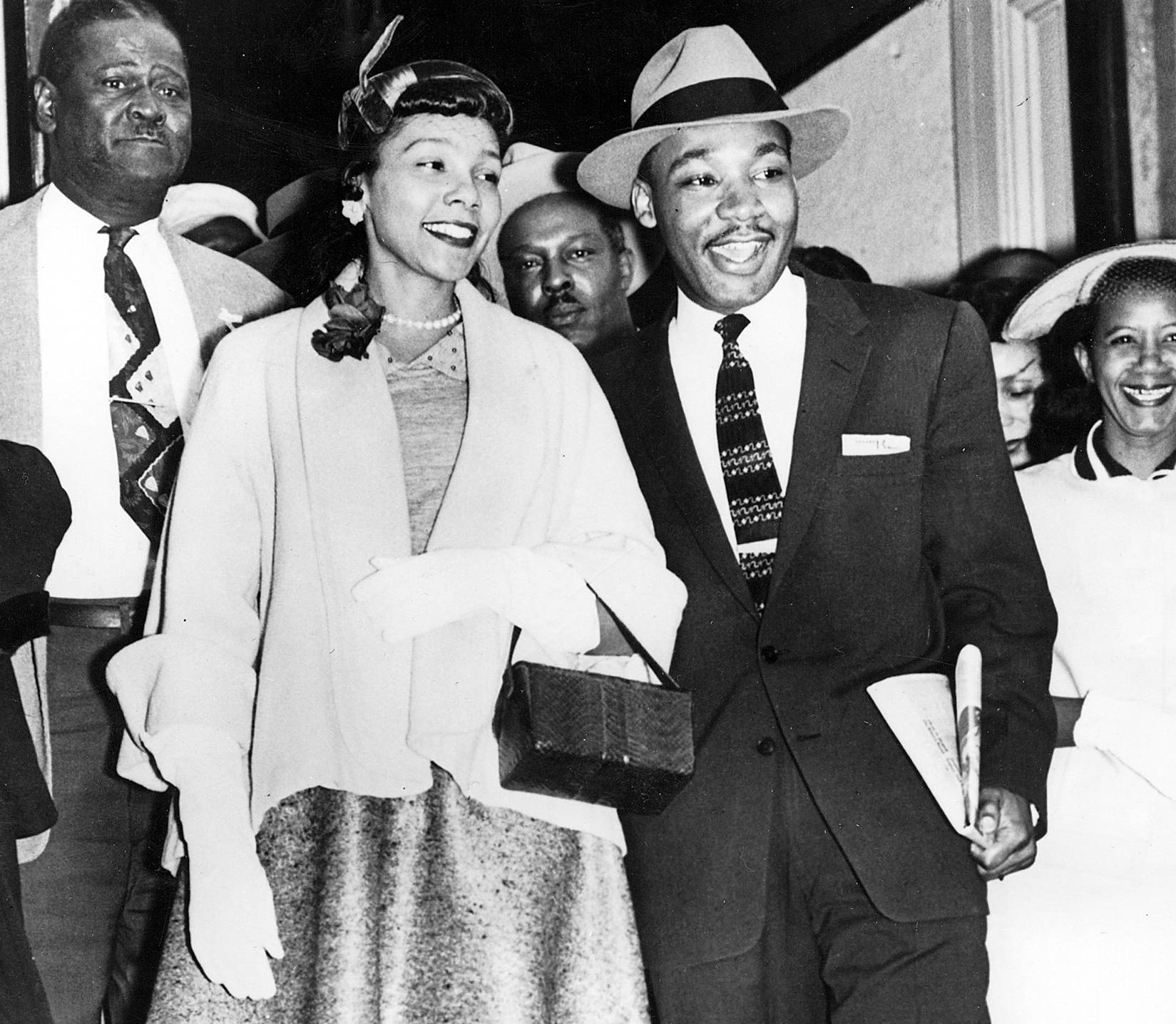 Martin Luther King Jr. and Coretta Scott King - Martin Luther King Jr. and Coretta Scott King. (Photo: AFP/AFP/Getty Images)