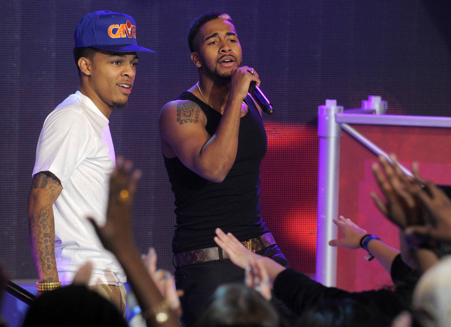 Bow Wow and Omarion Face Off - Rap and R&B have been happily married for years, and Bow Wow and Omarion kept this tradition going on 106 & Park with the release of their joint album Face Off.(Photo: John Ricard / BET)