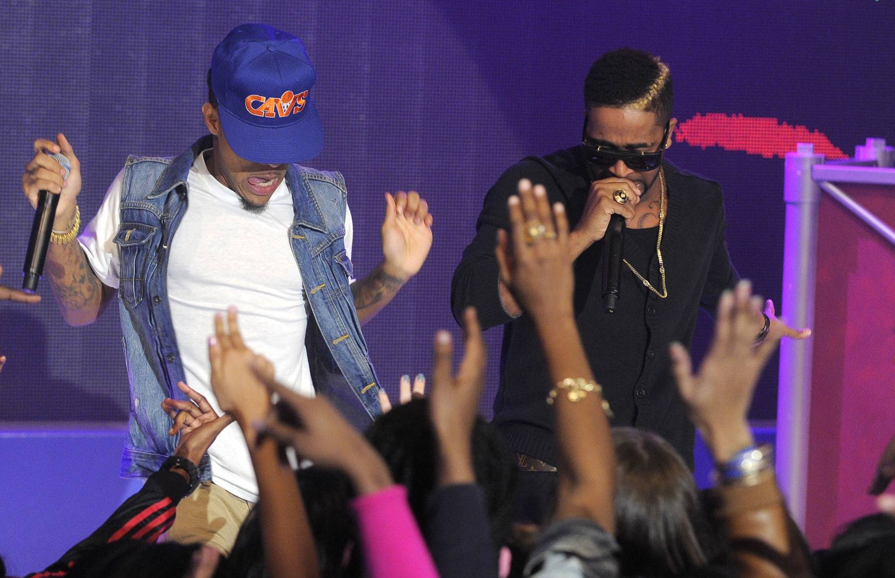 Touch Me - Bow Wow on set at BET's 106 & Park. (Photo: John Ricard / BET)