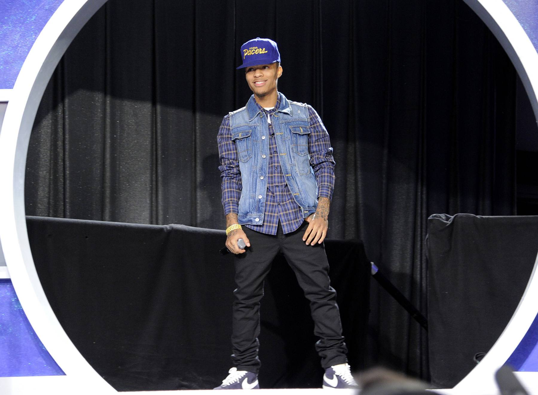 I'm Coming\r - Bow Wow on set at BET's 106 & Park. (Photo: John Ricard / BET)