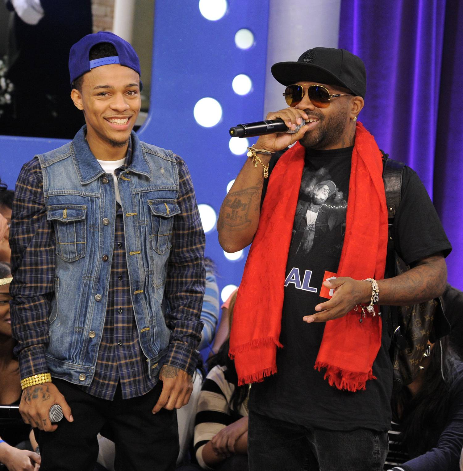 He Was Bad - Bow Wow with Jermaine Dupree at 106 & Park, January 23, 2012. (Photo: John Ricard / BET)