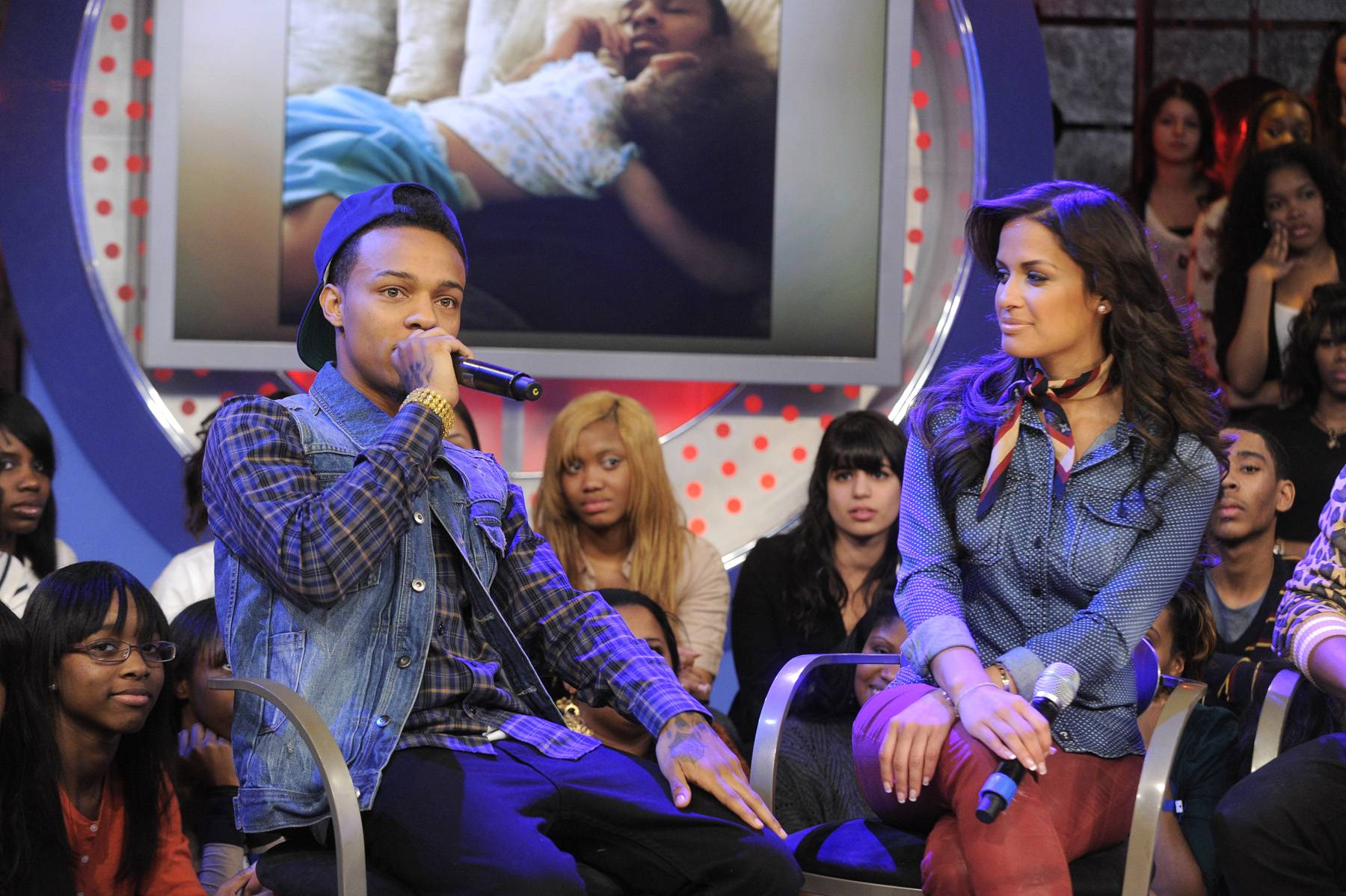 Show Me Love\r - Bow Wow discusses his daughter at 106 & Park, January 23, 2012. (Photo: John Ricard / BET)