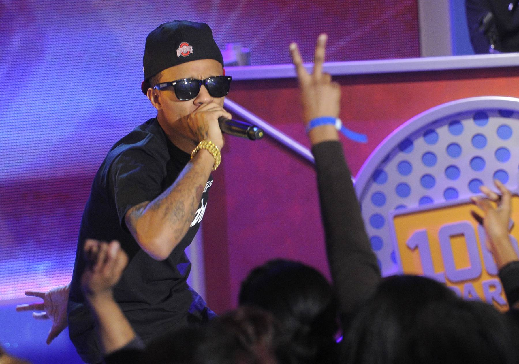 Get Low - Bow Wow performs at 106 & Park, January 23, 2012. (Photo: John Ricard / BET)