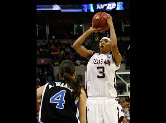 Fact #6 - ESPN.com placed her in the top five shooting guards in the nation.