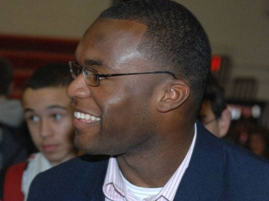 Fact #1 - Myron Rolle is the Male Kmart Collegiate Athlete of the Year.