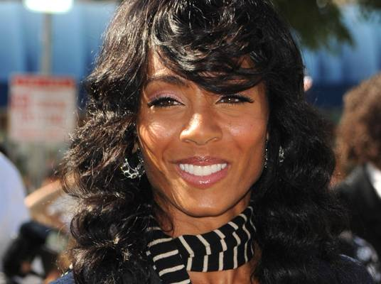 Jada Pinkett Smith on Tuesday - The star actress returns to TV with her new show ?Hawthorne?.