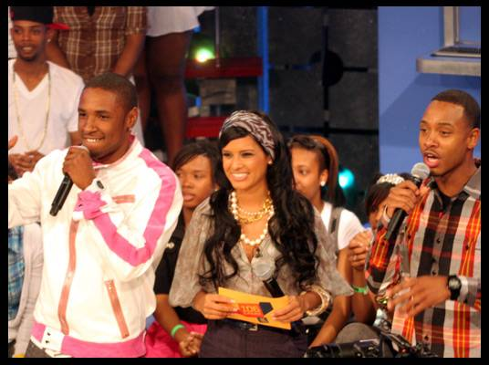 Jibbs - Terrence and Rocsi welcomed him back to the show.