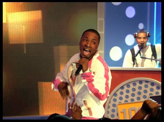 "Jibbs - He performed his new hit song,""Dedication (Ay DJ)"""