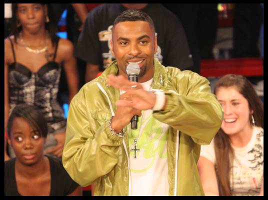 Ginuwine - He also stopped by with his new CD,