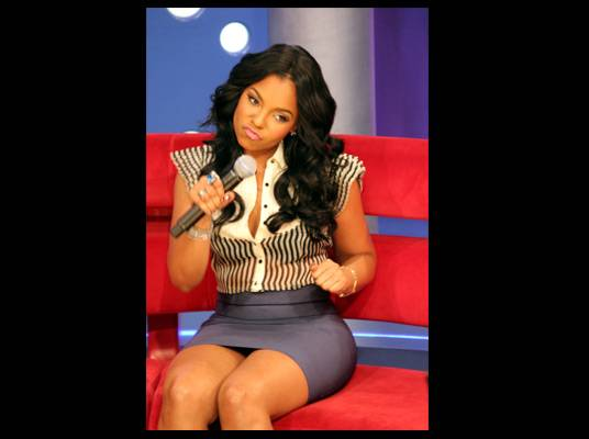 Ashanti - During a commercial break, she jammed out while the DJ played her biggest hits.