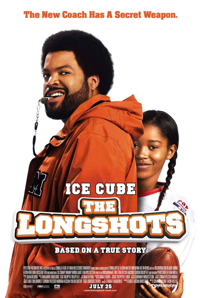The Longshots, Tuesday at 10A/9A - Ice Cube's teaching KeKe Palmer how to run the show. Peep other athletic flicks that run things.(Photo: Dimension Films)