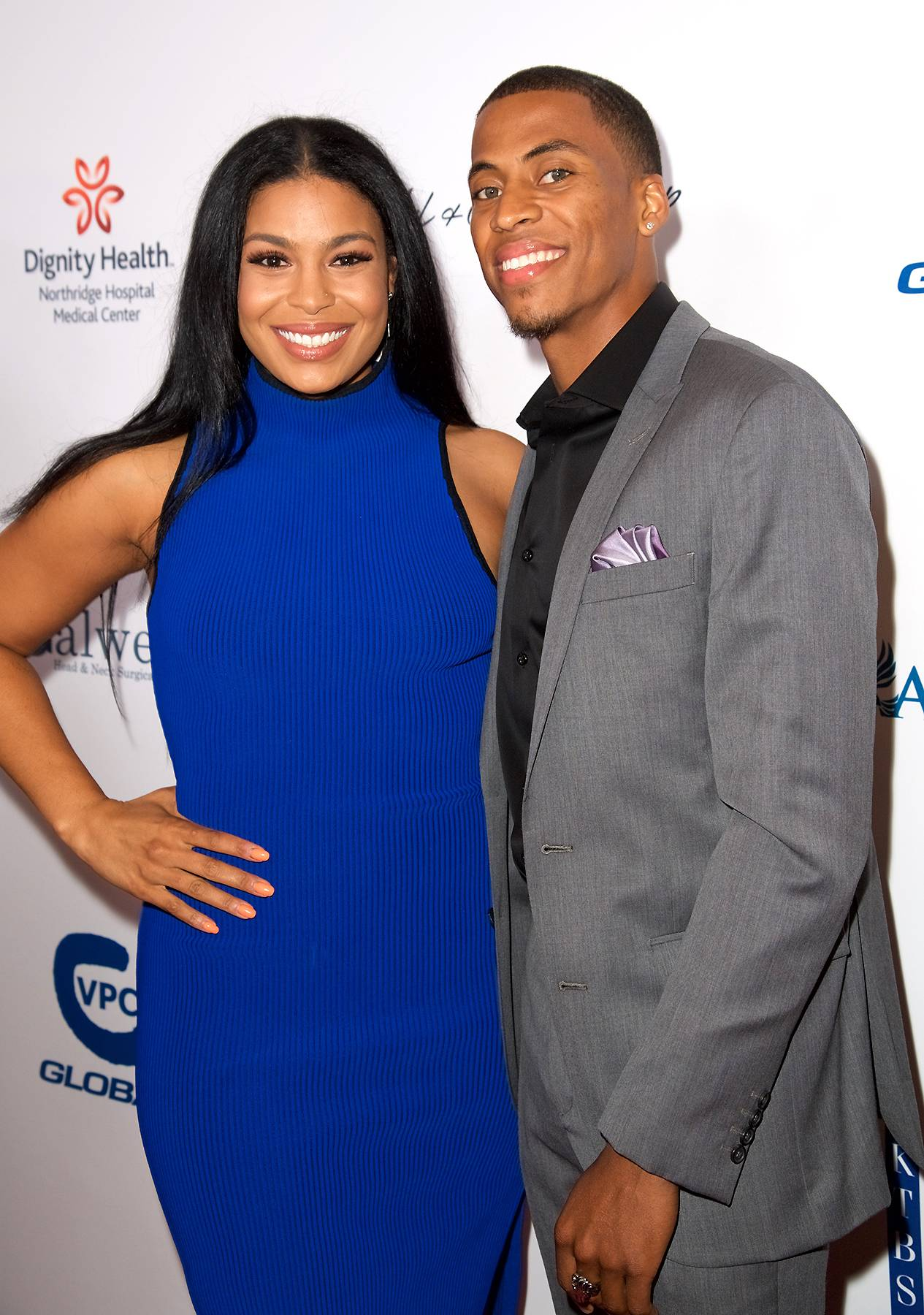 Jordin Sparks and Dana Isaiah attend the 17th Annual Harold & Carole Pump Foundation Gala at The Beverly Hilton Hotel on August 11, 2017 in Beverly Hills, California. (Photo: Earl Gibson III/WireImage)