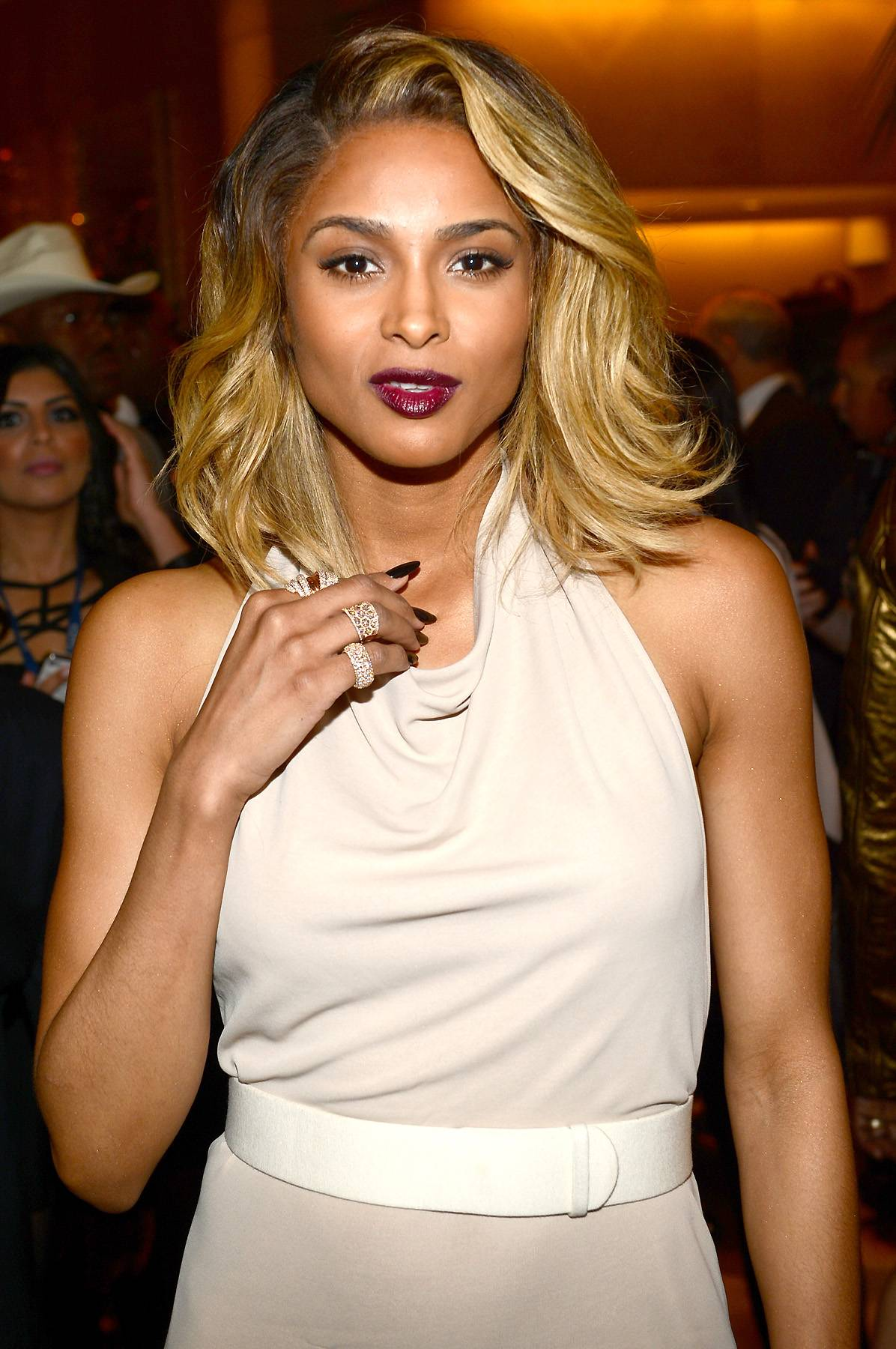 Ciara's C-Squad - So, apparently a Ciara fan club exists, it's called the C-Squad and Future isn't the only member. Who knew?  (Photo: Larry Busacca/Getty Images for NARAS)