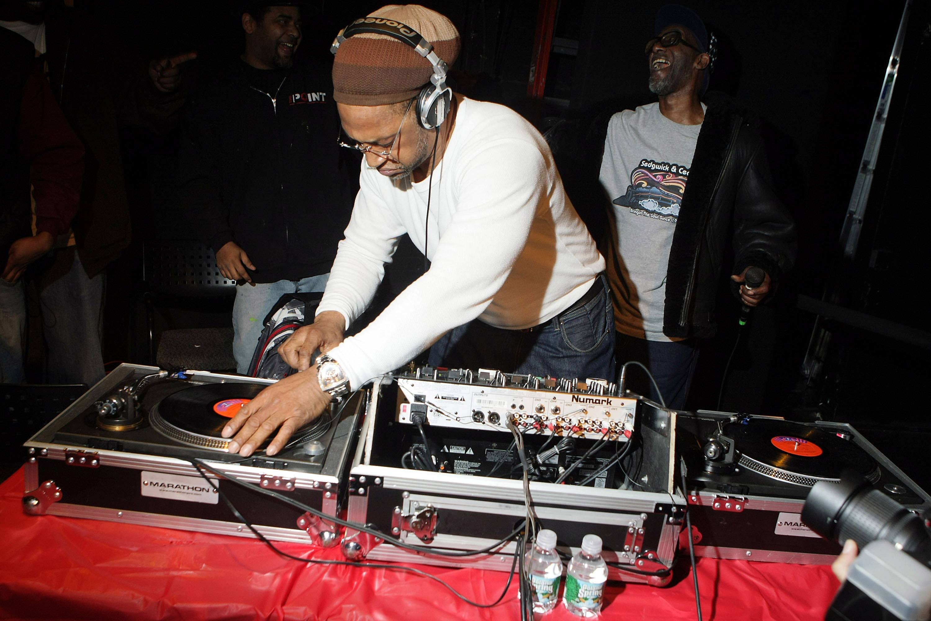 DJ Kool Herc - DJ Kool Herc is understood to be the father of hip hop. That's quite a title, but it's one that's well-deserved, as the Jamaican-born, Bronx-raised legend created break beats, which would serve as a launching pad for the music and culture.(Photo: WENN.com)