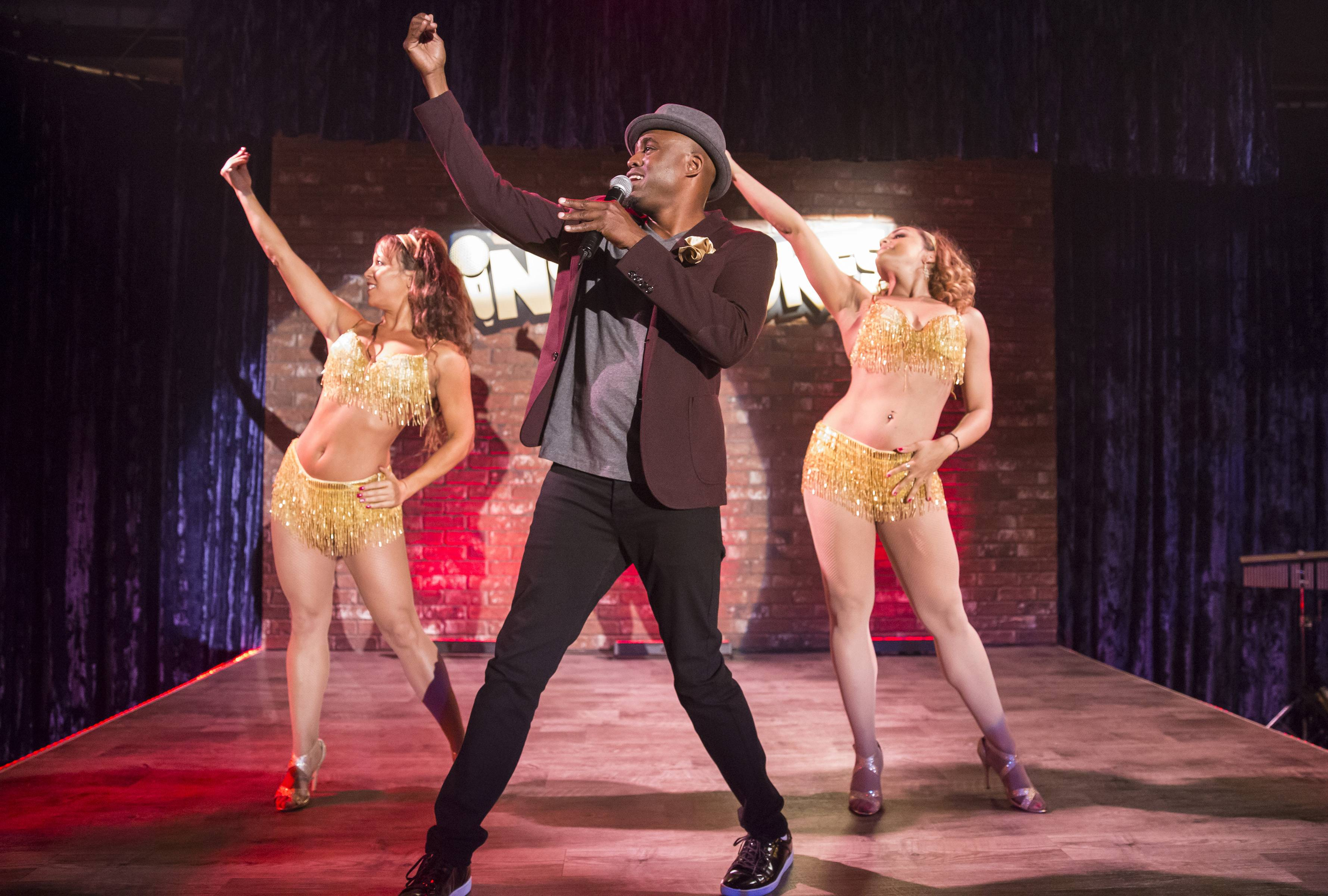 Clearly he's still fighting to play Sammy Davis Jr. - (Photo: BET)