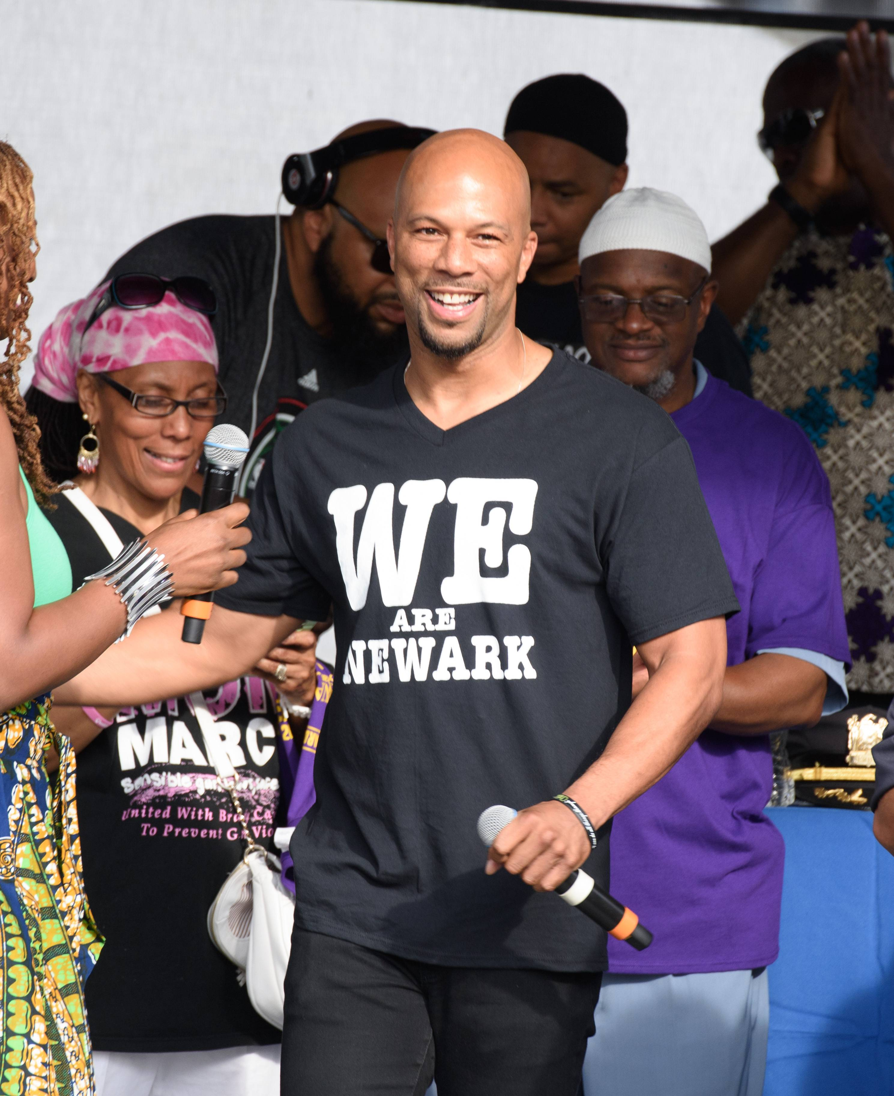 Common - He's perfect because he has a bald head. Enough said.  (Photo: Dave Kotinsky/Getty Images)
