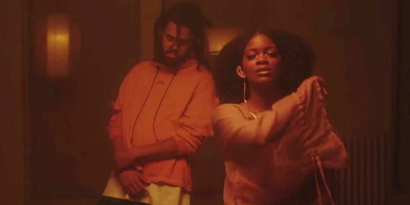 """Ari Lennox and J. Cole are nominated for Best Collaboration Performance for """"Shea Butter Baby."""" - (Photo: Dreamville Records)"""
