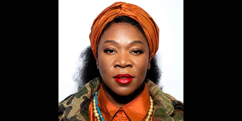 India Arie is acknowledged with a Soul Train Certified Award nomination. - (Photo by Santiago Felipe/Getty Images)