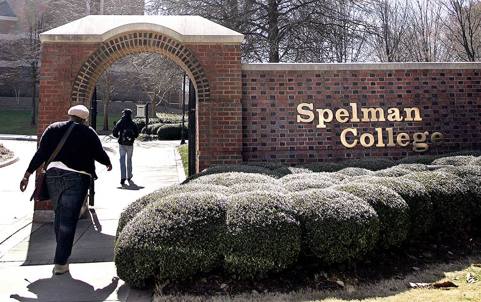1987 ? Spelman College - From 1987 to 1997,Dr. Johnnetta B. Cole served as president of Spelman College. During her time there, she helped raise $113.8 million in funding, the largest amount ever for an HBCU. She also made history as the first Black female president of the school. (Photo: REUTERS/Tami Chappell /Landov)