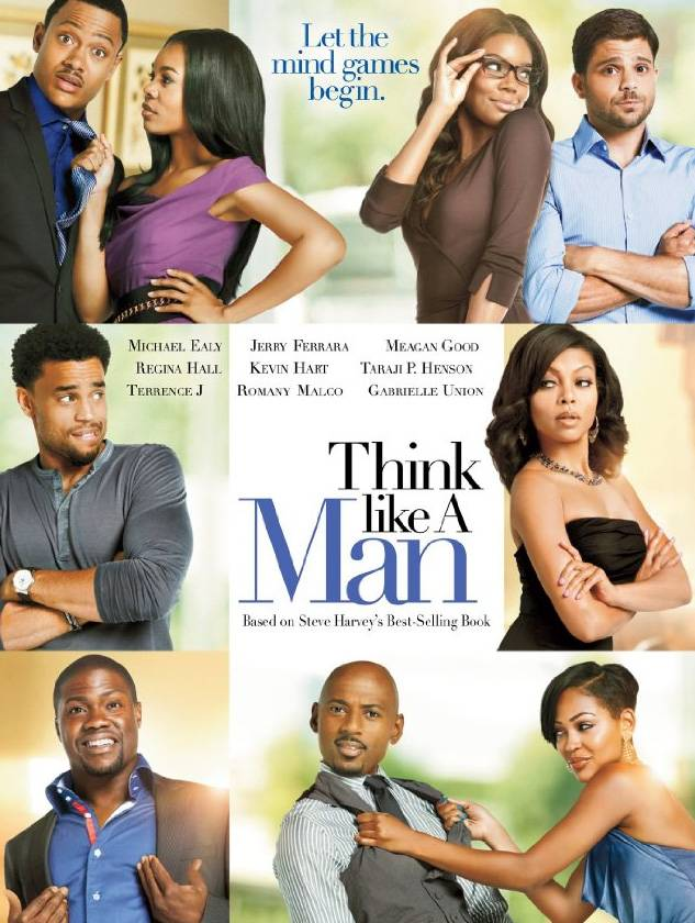 Think Like a Man: April 20 - In this highly anticipated screen version of Steve Harvey's New York Times bestselling book, an all-star cast led by Kevin Hart, Michael Ealy, Romany Malco, Taraji P. Henson, Gabrielle Union, Regina Hall and Meagan Good engage in the ultimate men-versus-women love games for the ages.(Photo: Courtesy Screen Gems Pictures)