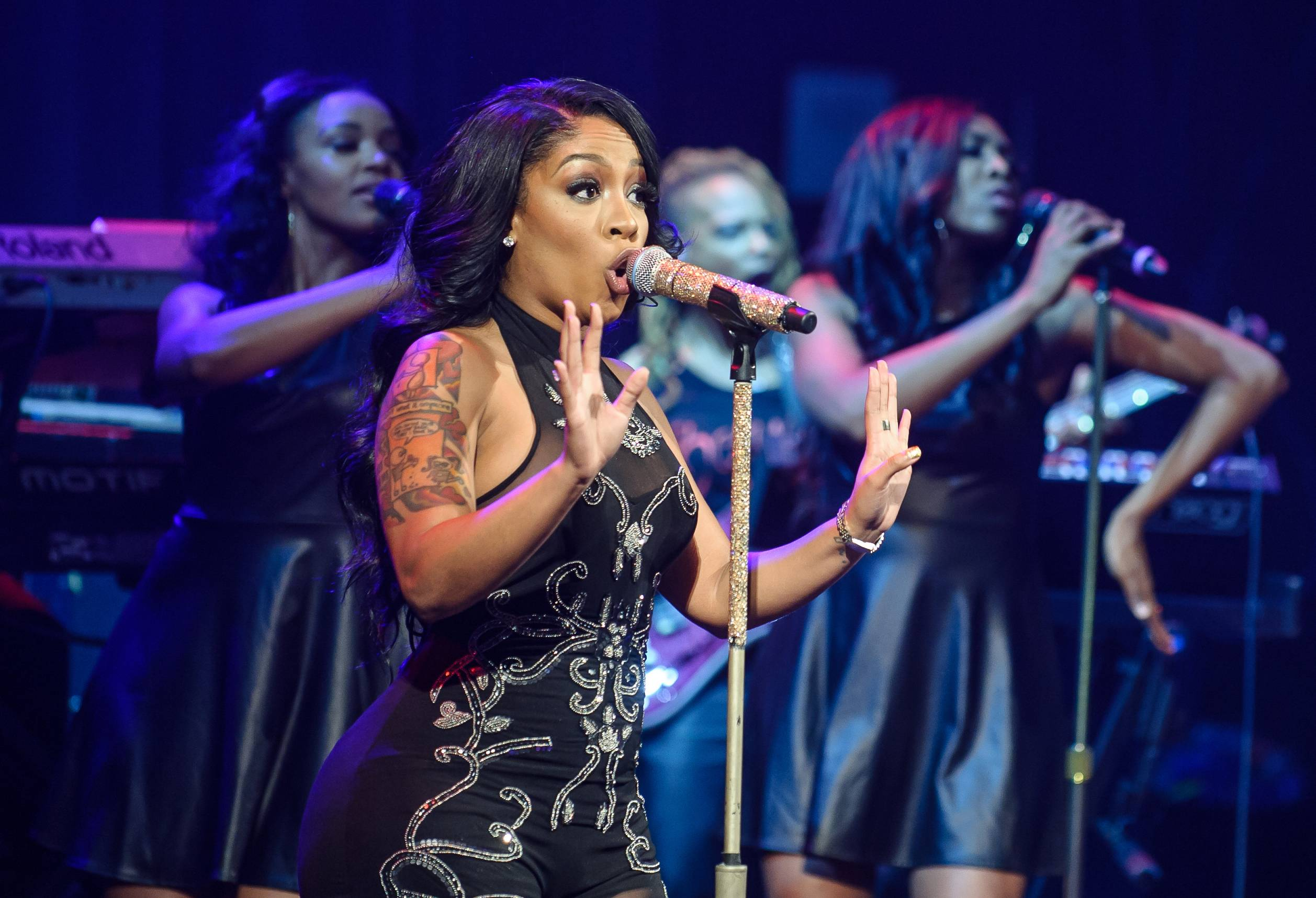 K. Michelle  - Anybody wanna buy a heart? The vivacious K. Michelle will likely convince you that you do. Once you get to listen to her lyrical heartbreak mixed with blaring vocal runs, you'll be thoroughly surprised at her take on the rollercoaster ride of love. (Photo: Kyle Gustafson / For The Washington Post via Getty Images)