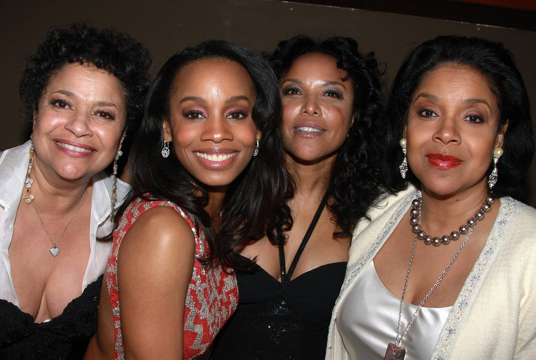 In Good Company - Although she is one of Hollywood's most respected figures, Phylicia Rash?d is not intimidated by other talented women in her field. In fact, she is known to be friends with other iconic faces in the business, including Lynn Whitfield, the late Ruby Dee and Kim Fields.(Photo: Bruce Glikas/FilmMagic)