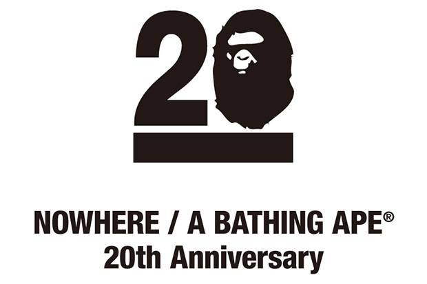 Bathing Ape 20th Anniversary - 20 special artists each had the chance to create their own Ape Head designs that would be featured as limited edition canvases and T-shirts in Tokyo. Kanye West and his agency were part of the artists able to participate. (Photo: Bape)