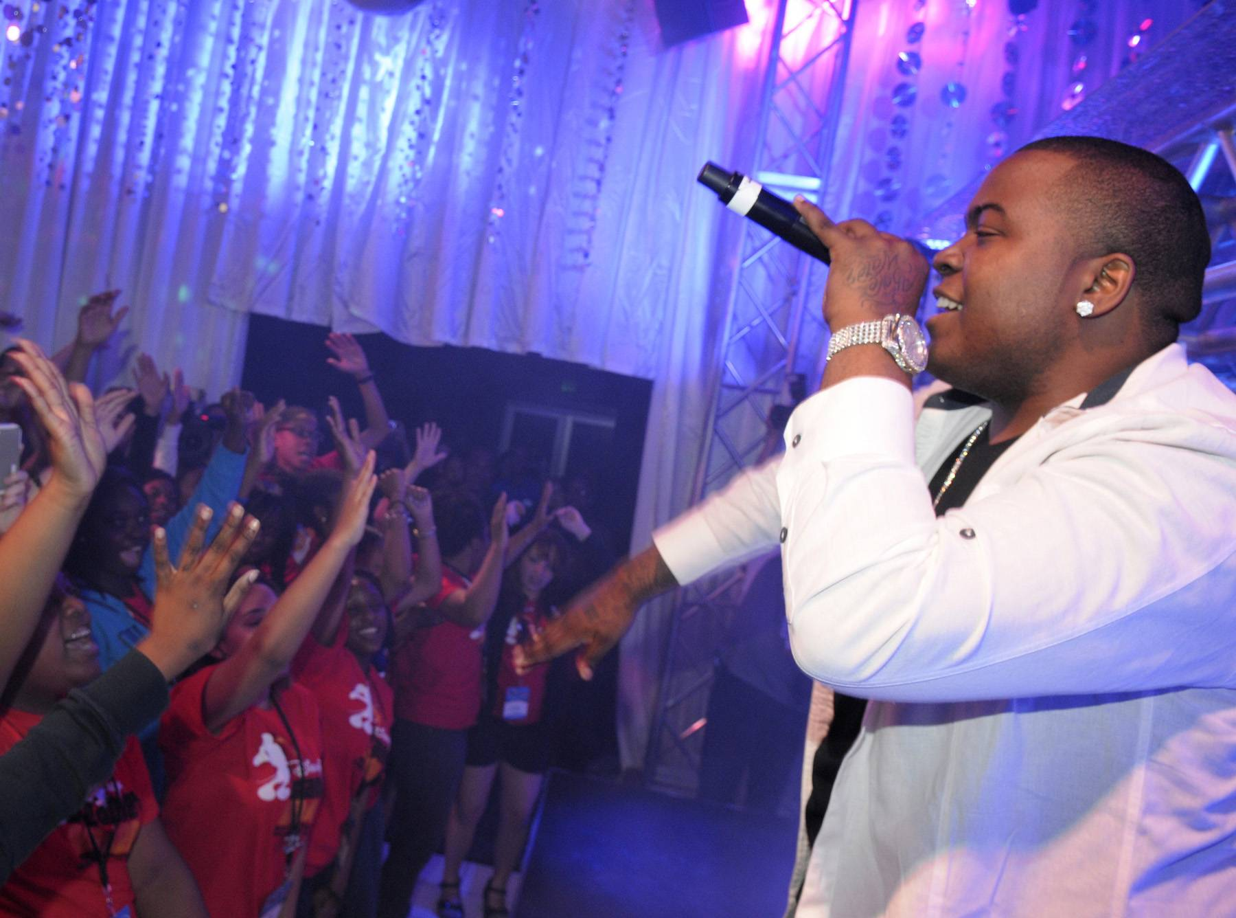 Sean Kingston, Recording Artist - ?There are times and tribulations where you want to give up and don?t want to chase your dream because you feel like it?s taking too long or it?s not going to come. In reality, you?ve just got to keep motivated and keep God first.? (Photo: Phelan Ebenhack/Disney)