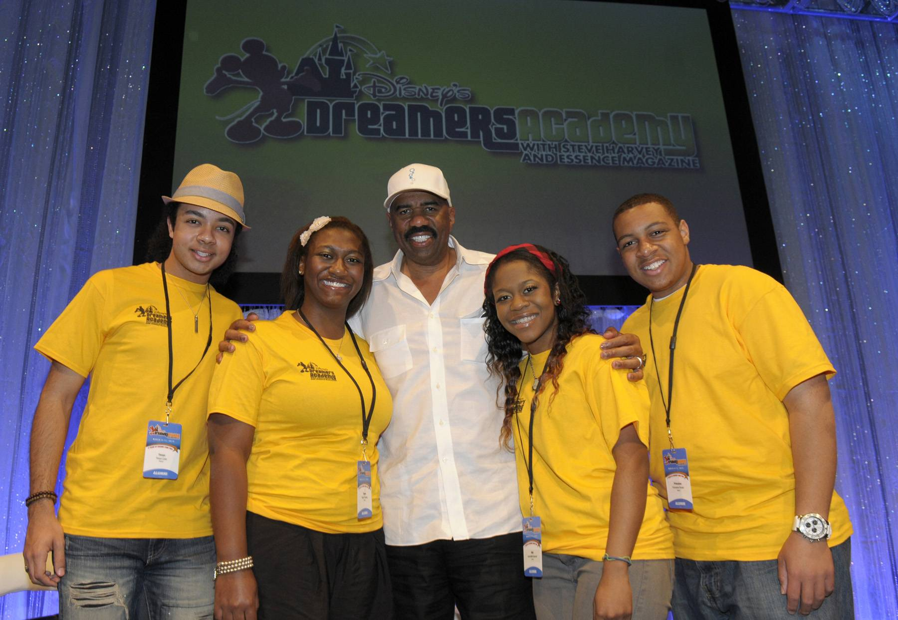 In Their Own Words - Steve Harvey,Selita EbanksandSean Kingstonwere among the bevy of stars on hand to celebrate the fifth annualDisney?s Dreamers Academyin Orlando, FL, March 8-11. Click on to see some of the words of wisdom they shared with the lucky high school students invited to attend the four-day conference, which focused on empowering young people to reach their goals.?Britt Middleton  (Photo: Phelan Ebenhack / Disney)