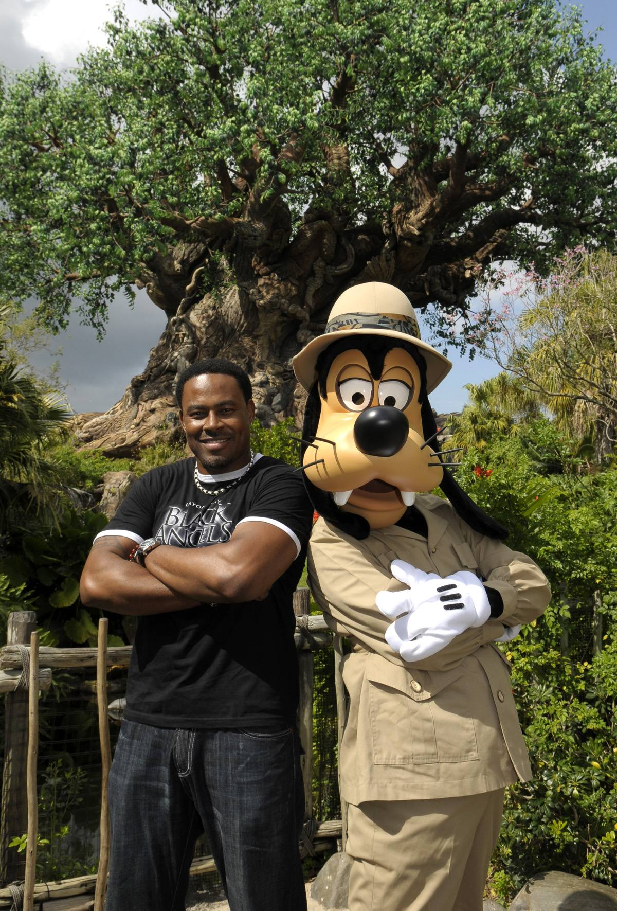 Lamman Rucker, Actor - ?Every single one of you is a superhero. There?s something special about you that nobody else on the planet has.?  (Photo: Phelan Ebenhack/Disney)