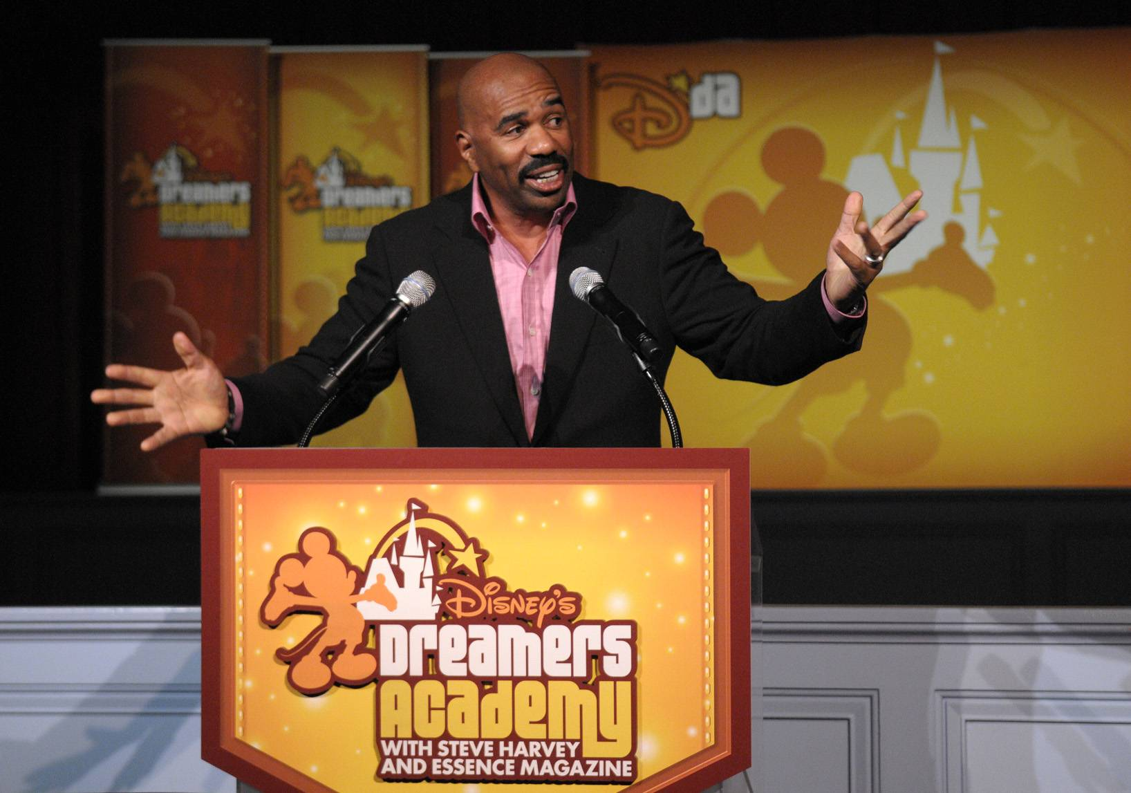 Steve Harvey, Radio Host and Comedian - ?Don?t get consumed with your passion because your passion ain?t going to do it for you. What will do it for you in your life is your gift. You gift is the thing that you do the absolute best with the least amount of effort.?(Photo: Phelan Ebenhack/Disney).