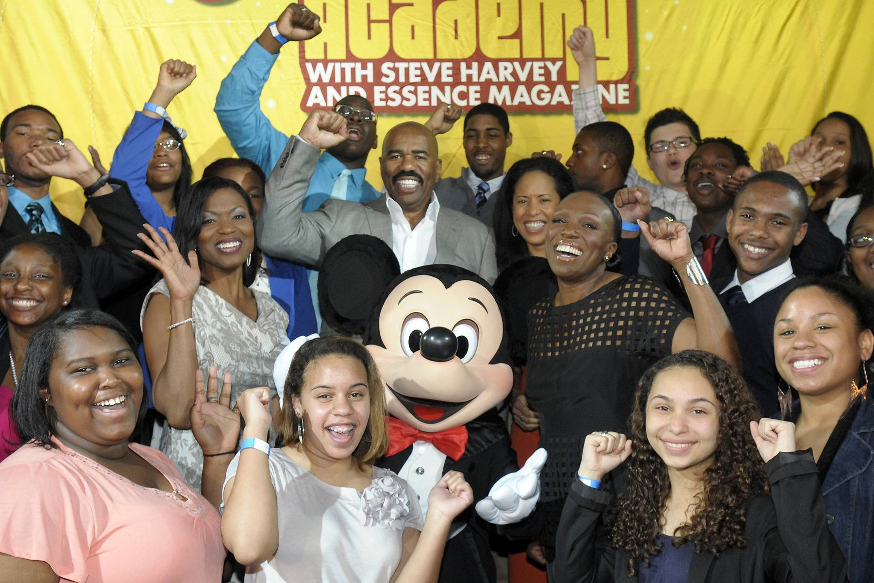 Dreaming Big - One hundred teens from around the country were invited to be part of the 5th annualDisney?s Dreamers Academy. Hosted by Steve Harvey and Essence magazine, the four-day conference helped high school students refine their goals and gain self-confidence while they attended innovative career workshops led by celebrity guests and top industry experts. BET.comlooks back at their incredible journey.?Britt Middleton(Photo: Phelan Ebenhack).