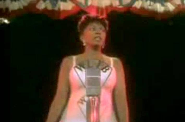 """Anita Baker: """"No One in the World"""" - Leewas hired to helm the video for this tune by '80s R&B superstar Anita Baker. In the clip, the chaunteuse is a World War II era singer getting her first singing break before an audience.  (Photo: Blue Note Records)"""