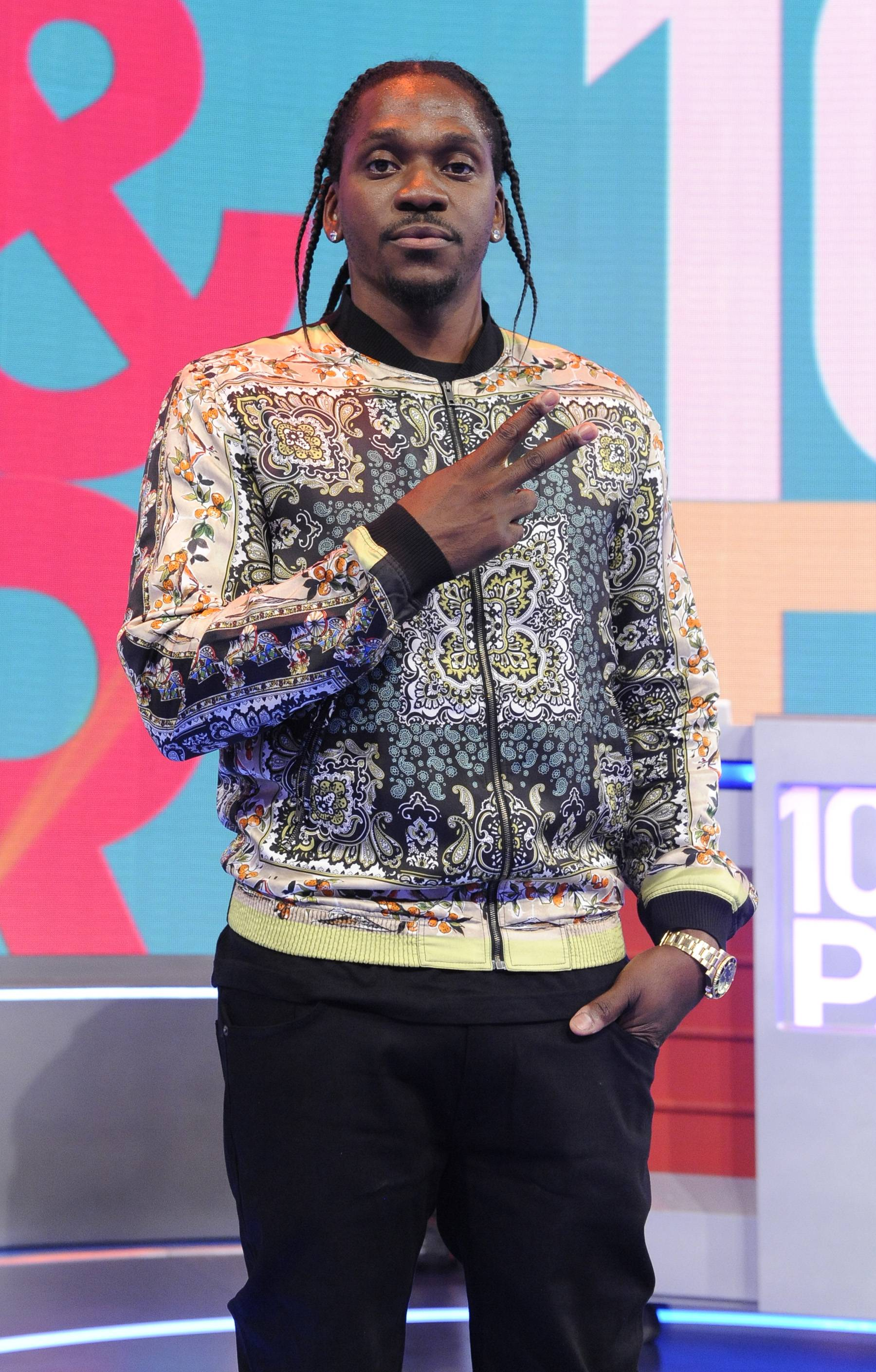 """Pusha T, @PUSHA_T - Tweet: """"Pusha - T: My Name Is My Name July 16, 2013 G.O.O.D. Music/Def Jam #JustKno""""Pusha T reveals the name of his solo debut. Or did he?(photo: John Ricard / BET)"""
