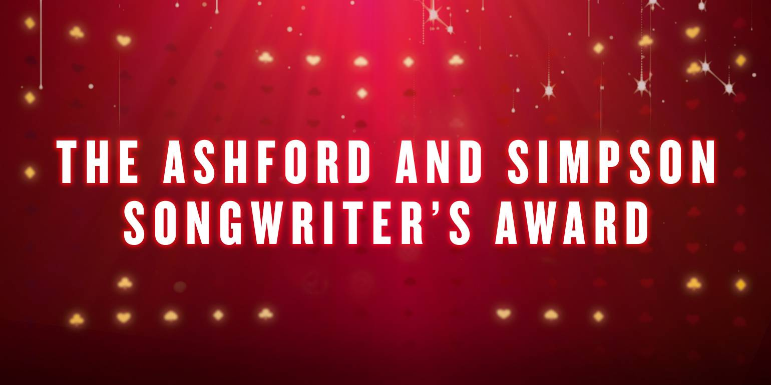 THE ASHFORD AND SIMPSON'S SONGWRITER'S AWARD - -