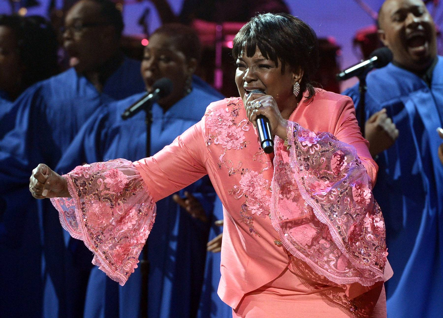 """Best Gospel/Inspirational Performance: Shirley Caesar -""""God Will Make Away """" - Despite its gentle beginning, Caesar?s arresting voice assures us that God has a plan to get us through our toughest times. (Photo: Kevin Winter/Getty Images for BET)"""