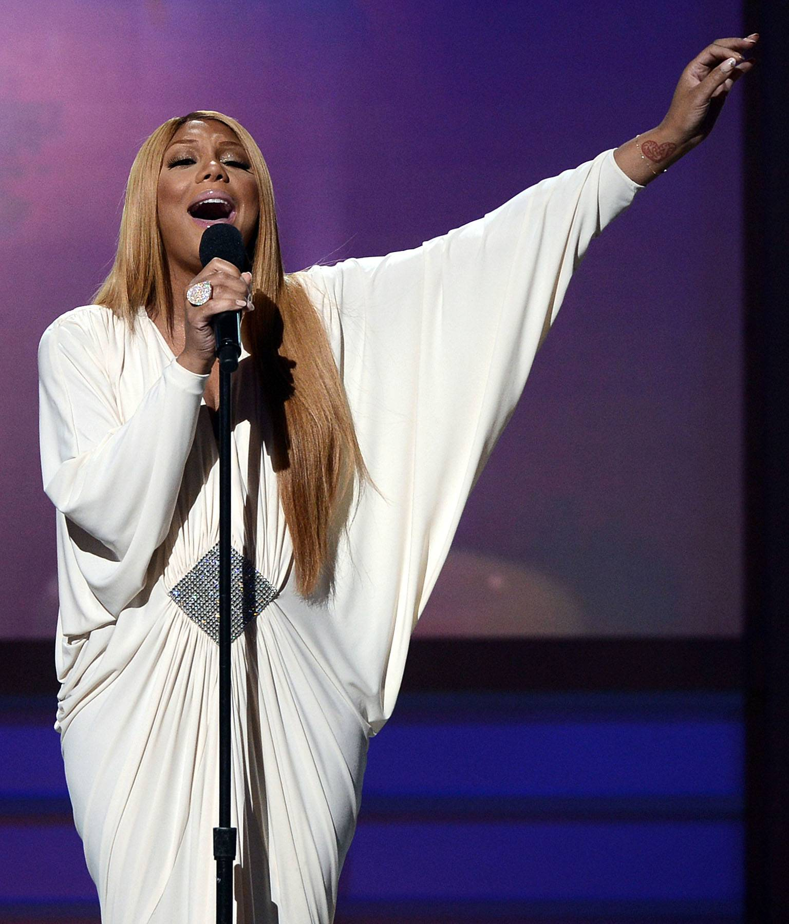 Best R&B/Soul Female Artist: Tamar Braxton - The powerhouse R&B vocalist proved she wasn't just Toni Braxton's baby sister.(Photo: Kevin Winter/Getty Images for BET)