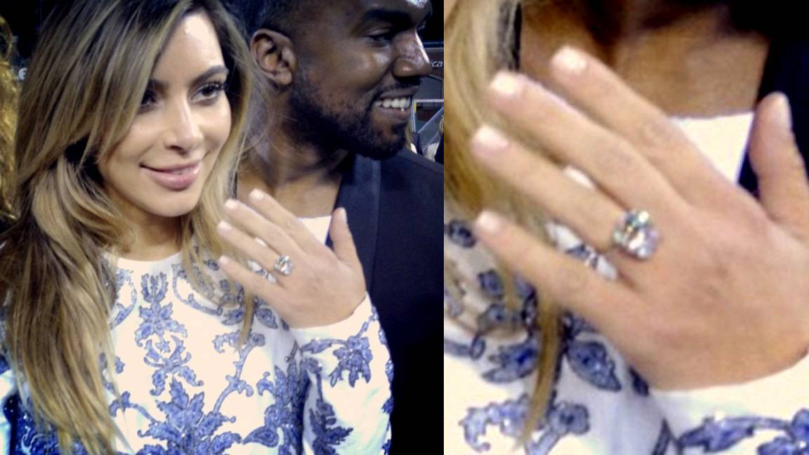 Kim Kardashian  - We're hoping the third time's a charm for Kim K., who accepted boyfriend Kanye West's marriage proposal on Oct. 21, 2013 after 18 months of dating and the birth of their daughter, North, in June. Kim is working with a flawless 15-carat diamond ring designed by celebrity jeweler Lorraine Schwartz. They wed in a lavish ceremony in Florence, Italy, on May 24, 2014.  (Photos: Clyde Haygood via Instagram)