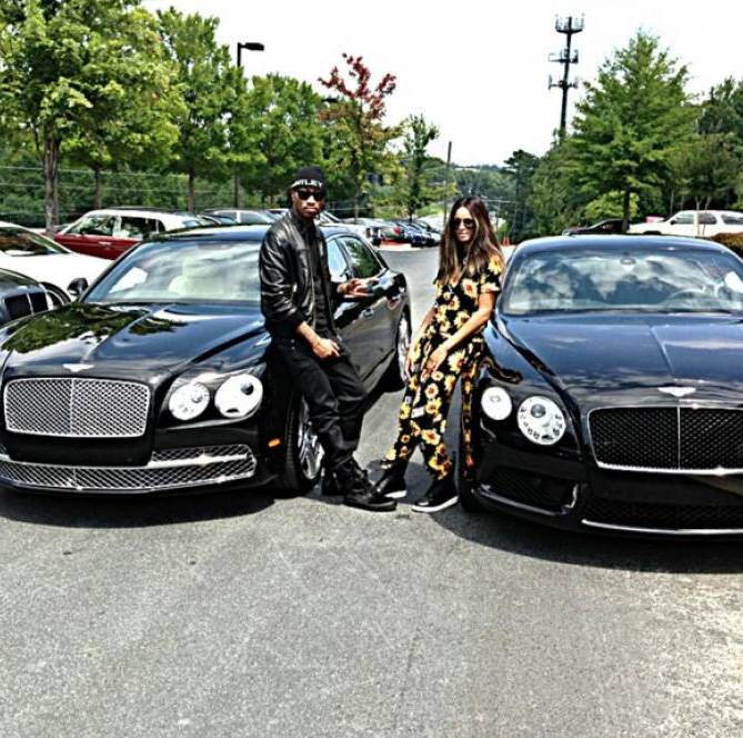 His and Her Bentleys - If Ciara and Future weren't a perfect match before, they definitely are now. Even though the two aren't engaged (yet), they're definitely building a life together and are making a statement with matching Bentleys.(Photo: Instagram via Ciara)
