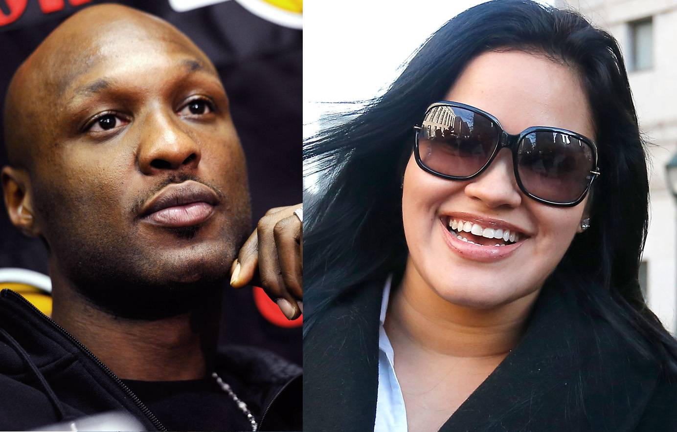 Lamar Odom and Liza Morales - Before he started keeping up with the Kardashians, Odom was married to Khloé look-a-like Liza Morales. The couple had been through tough times, including losing a child, but seemed to be on good terms once Odom moved on to the reality princess. When that marriage went kaput, Morales reached out to Odom to offer a shoulder to cry on and even helped him rebuild his relationship with their two children.(Photos from left: Kevork Djansezian/Getty Images, Jemal Countess/Getty Images)