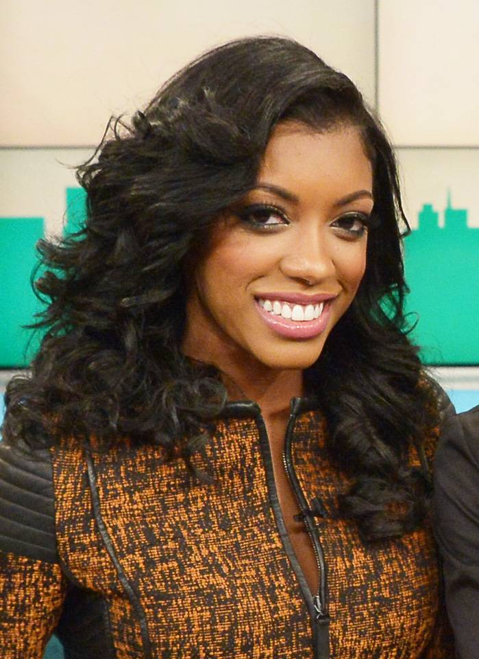 """Porsha Williams - March 19, 2014 - Porsha Williams stopped by to give us all the tea.Watch a clip now!(Photo: Mike Coppola/Getty Images for """"bethenny"""")"""