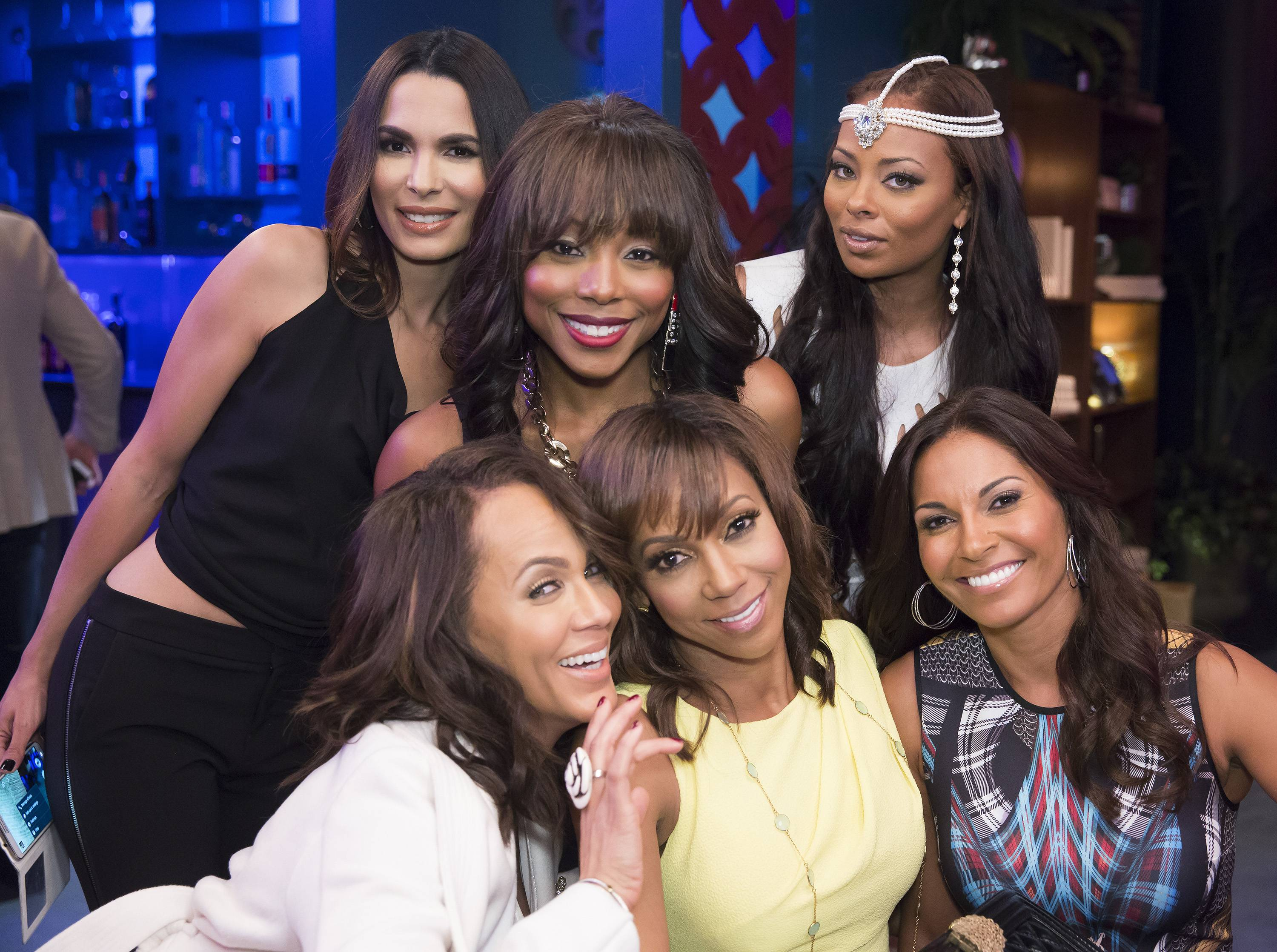 The ladies have made their case. Either they're all on the show or no one is.  - (Photo: Dale Berman/BET)
