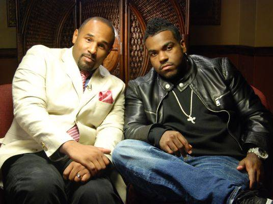 CoCo Brother & Rodney Jerkins - CoCo Brother and Rodney pose for the photo.