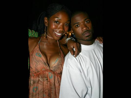 Brandy & Ray J - Brandy and Ray J acted out their real-life roles as brother and sister on the hit series, ?Moesha.? Since then, Brandy?s been concentrating on music while Ray J hunts for love on reality TV. The siblings reunited with a realty series and collaboration album.