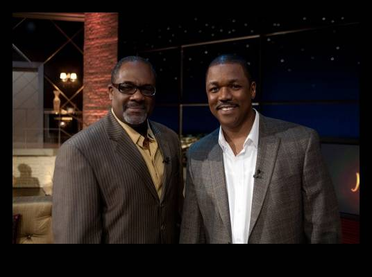 Greg Alan Williams & Stan Foster - Greg costars with LeToya Luckett in ?The Preacher?s Kid,? written and directed by Stan Foster.<br><br>Photo Credit: Darnell Williams
