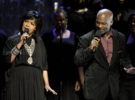 BeBe & CeCe Winans - BeBe and CeCe take the stage at the Celebration of Gospel.
