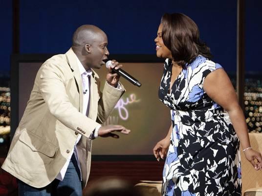 Derrick Ashong & Mo'Nique - Derrick Ashong hosts a radio show on Oprah?s Sirius Satellite Channel.