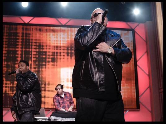 Fat Joe - Fat Joe performs ?(Ha Ha) Slow Down? from his upcoming album, ?The Darkside,? and his hit, ?Lean Back.?